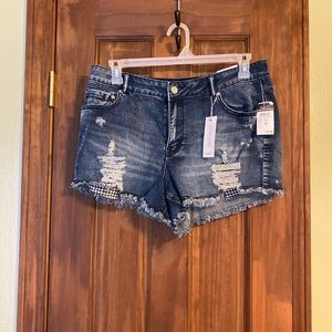 Rue21 girls girls high rise shortie shorts 16